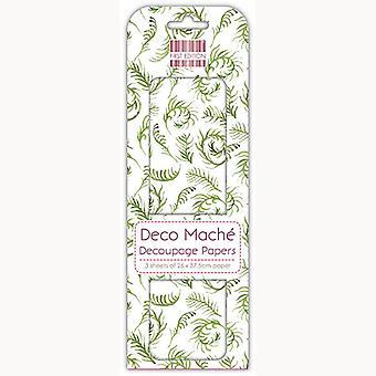 Primera Edición FSC Deco Mache - Sprig Verde