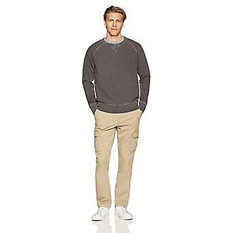 Goodthreads Men's Slim-Fit Vintage Cargo Pant, New British Khaki, 40W x 30L