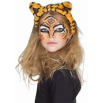 Tiger Headband pentru Copii Plush Tiger Ears Accesoriu
