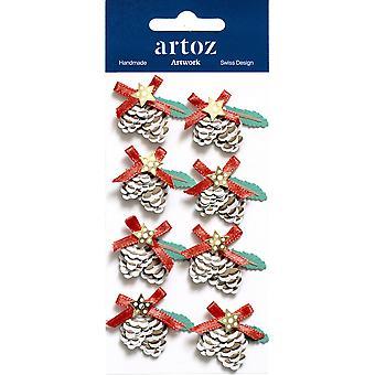 عيد الإكسماس باين مخروط الزينة الحرفية الزينة من قبل Artoz