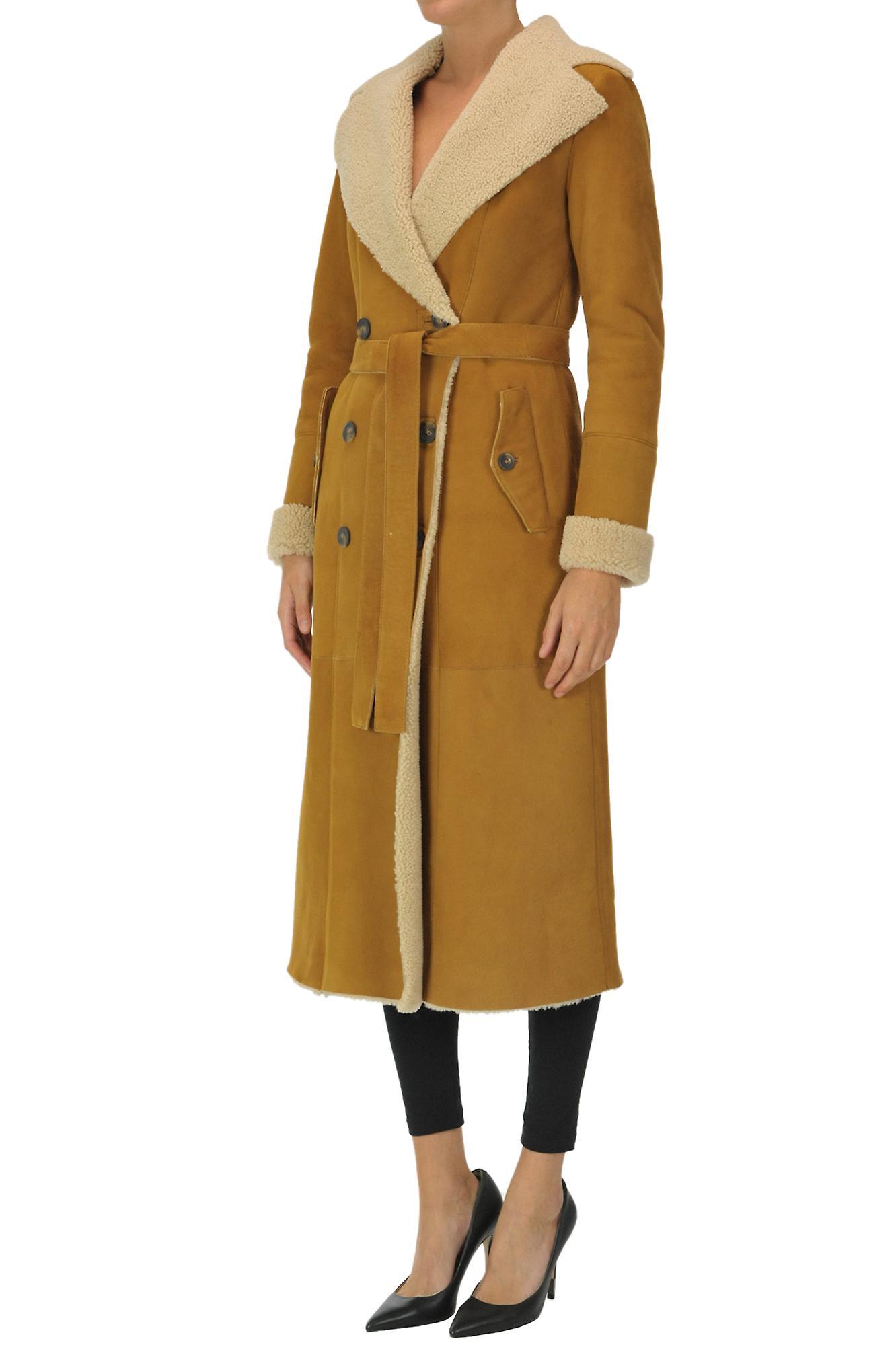 Desa 1972 Ezgl357009 Women's Brown Leather Coat