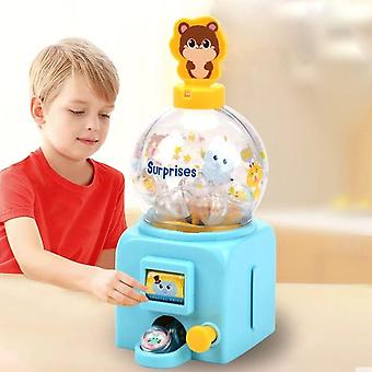 Toy Machine Bubble- Storage Jar Candy Dispenser, Box Bottle Cute Sweets Kids