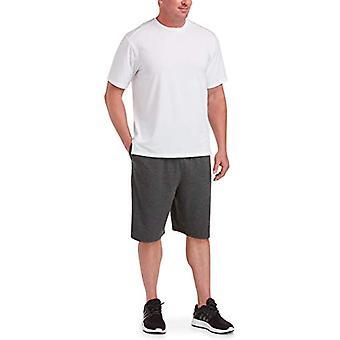 Essentials Men's Big & Tall Performance Cotton Short-Sleeve T-Shirt Shirt, -White, 3XL