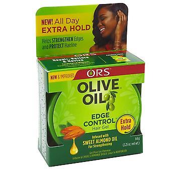 Ors olijfolie rand controle haargel, 2.25 oz *