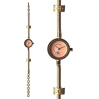 Rachel Galley Mother of Pearl Japanse Beweging Gold Plated Silver Timepiece