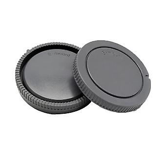 Camera Body And Rear Lens Cap For Canon/nikon/sony/nex