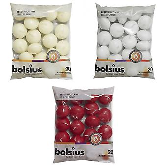 Bolsius Floating Candles (Pack Of 20)