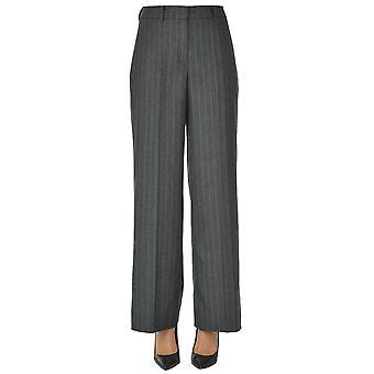 I.c.f. Ezgl456025 Women's Grey Wool Pants