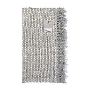 Country Club Woven Bamboo Rug, Grey