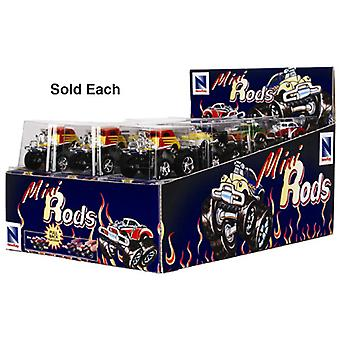 New Ray SS-00487I D/C Mini Rods - Pull Back Die-Cast ATV Toy (Assorted Color)