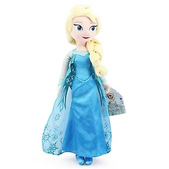 40 Cm Frozen Princess Anna & Elsa  Plush Toys Cute Dolls- Soft Pillows For Baby Kids For Birthday Dear Person Gift