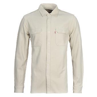 Levi's Jackson Lavoratore Beige Corduroy Camicia