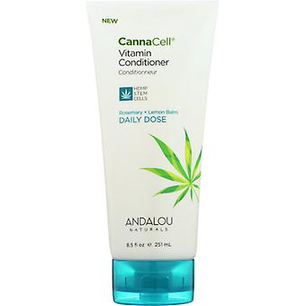 Andalou Naturals CannaCell Conditioner Daily Dose, 8.5 Oz