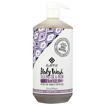 Alaffia Everyday Lavender Body Wash, 32 Oz