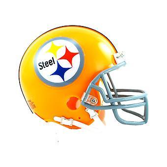 Riddell VSR4 Mini Football Helmet - Pittsburgh Steelers 1962