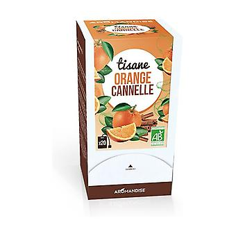 Cinnamon Orange Herbal Tea 20 units of 2g