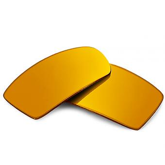 Replacement Lenses for Oakley Canteen 2014 Sunglasses Anti-Scratch Gold Mirror