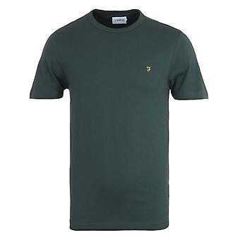 Farah Danny Organic Cotton Forest Green T-Shirt