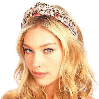 Silk Top Knot Headband