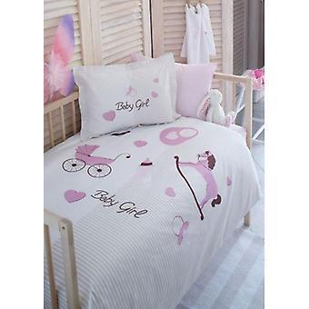 Baby Bettbezug Set, Neugeborene Blatt, Kissenbezug, Bettwäsche