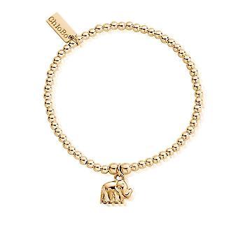 ChloBo GBCC406 Cute Charm Elephant Bracelet