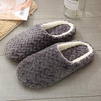 Women Indoor Slippers, Anti Slip, Autumn Winter Shoes, Soft Silent Slides