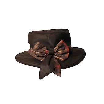 Walker och Hawkes - Ladies Thelma Bow Knot Hat med Tartan Trim