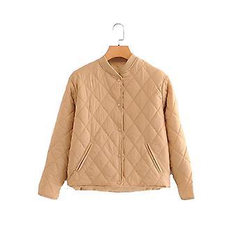 Cotton Jacket, Long Sleeve - Padded Overcoat