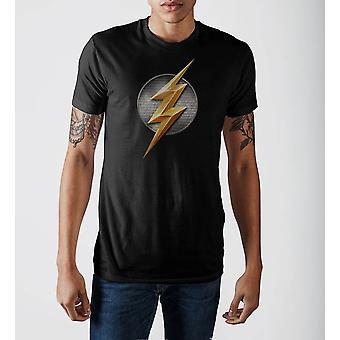 Justice league flash logo t-shirt