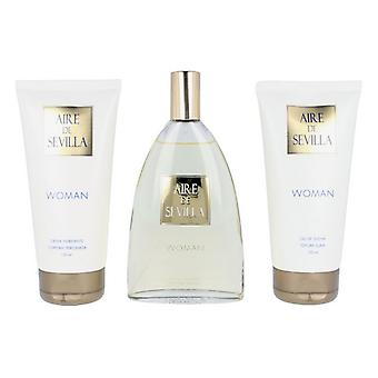 Women's Perfume Set Woman Aire Sevilla EDT (3 pcs)