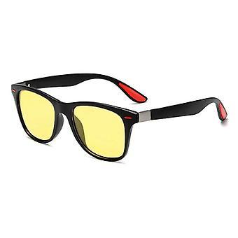 Men/women Classic Square Plastic Driving Sun Glasses Male Fashion Black Shades