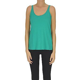Soeur Ezgl563011 Women's Green Cotton Top