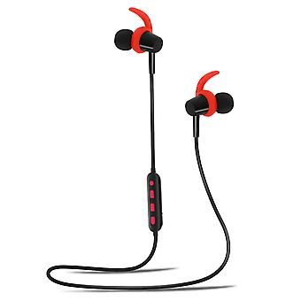 Magnetic Bluetooth Sport Headset with 4Sport Fenders BSH-400 Forever Red