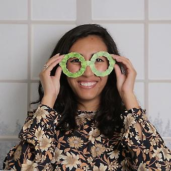 Novelty Sprout Christmas Fun Glasses  - Party Prop X 5