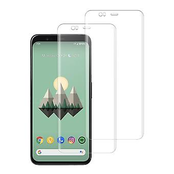 (Pixel 4) Shatterproof 3d Curve Screen Guard (2 Erpack)