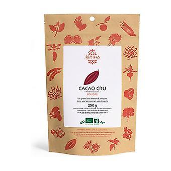 ORGANIC Raw Cocoa Powder 250 g of powder
