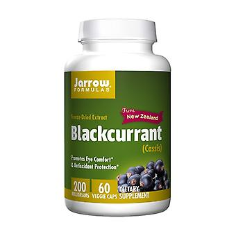 Blackcurrant 200 mg 60 vegetable capsules