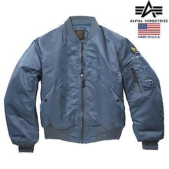 Original Alpha Industries US Vintage MA1 Flight Bomber Jacket