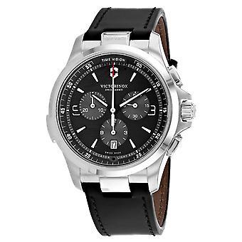 Swiss Army Men's Night Vision Black Dial Watch - 241785