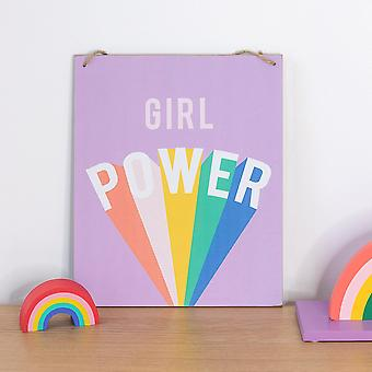 何か異なる女の子のパワープラーク