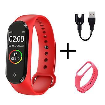 Men Women Smart Sports Blood Pressure Heart Rate Monitor Watch, Waterproof