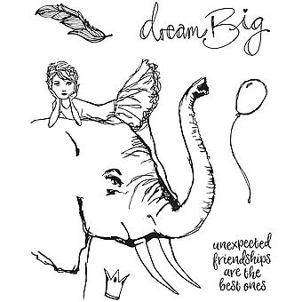 Spellbinders Elephant Dream Clear Stamp Set