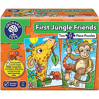Orchard Toys First Jungle Friends Jigsaw Puzzles