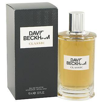 David Beckham Classic Eau De Toilette Spray By David Beckham 3 oz Eau De Toilette Spray
