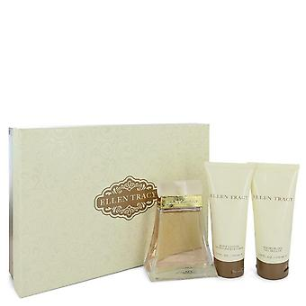 Ellen Tracy Gift Set By Ellen Tracy 3.4 oz Eau De Parfum Spray + 3.4 oz Body Lotion + 3.4 oz Shower Gel