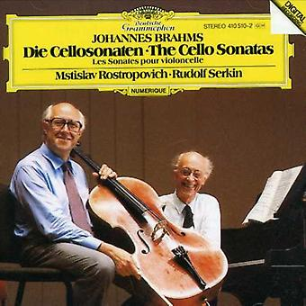 J. Brahms - Brahms: Cello Sonatas [CD] USA import