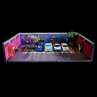 Car  Workshop Background Boar