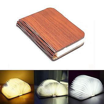 Holz 5v Usb wiederaufladbar - magnetisch, faltbar, 3d kreative Led Schreibtisch Tisch