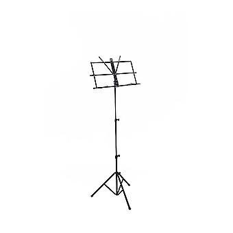 Professionele opvouwbare muziekstandaard bladhouder - draagbaar, opvouwbaar, lichtgewicht en volledig verstelbaar