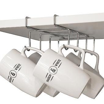 Under Shelf Cabinet Mug Rack | M&W Small